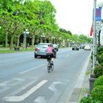 クロスバイク安全