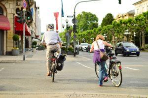 クロスバイク ペダリング