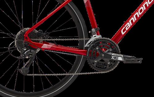 24段変速のクロスバイク
