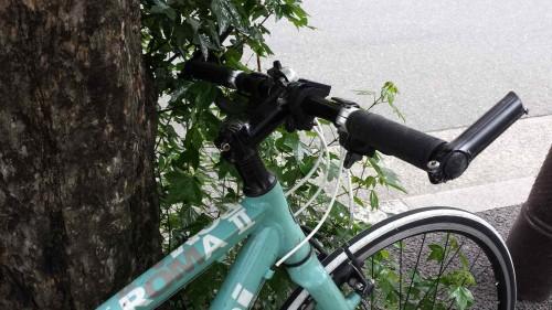 クロスバイク バーエンド