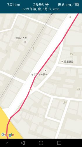 fitbit blaze 地図 GPS