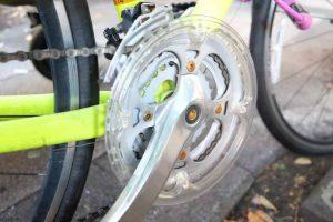 クロスバイクの変速ギア