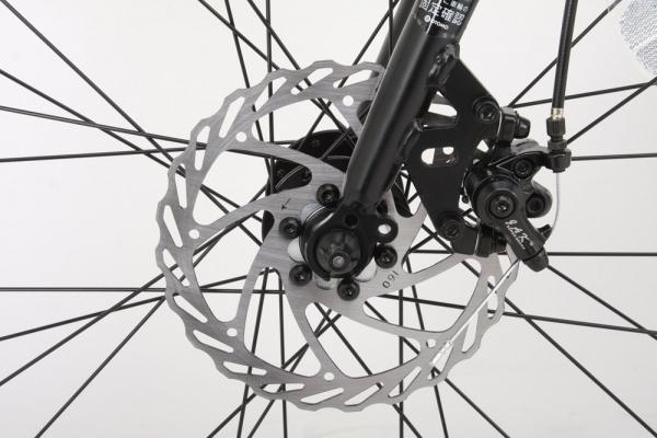 クロスバイクのディスクブレーキメンテナンス