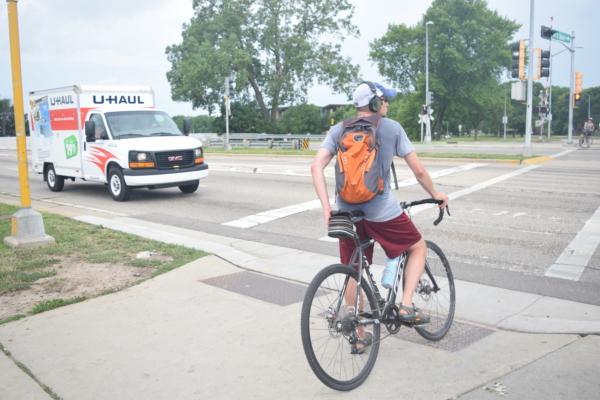 クロスバイクのバックパックのデメリット