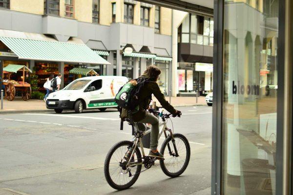 クロスウェイ100で自転車通勤
