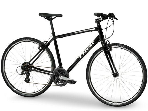 トレックのクロスバイクfx1ブラックカラー