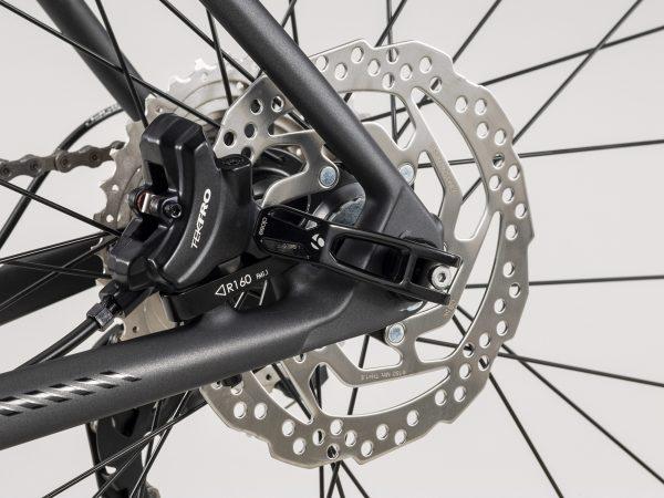 クロスバイクディスクブレーキ カスタム例