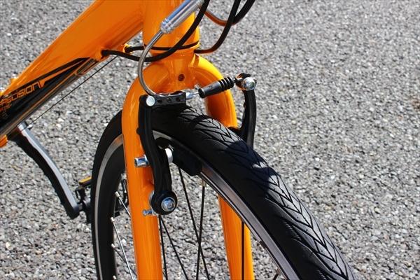 クロスバイクのVブレーキメンテナンス