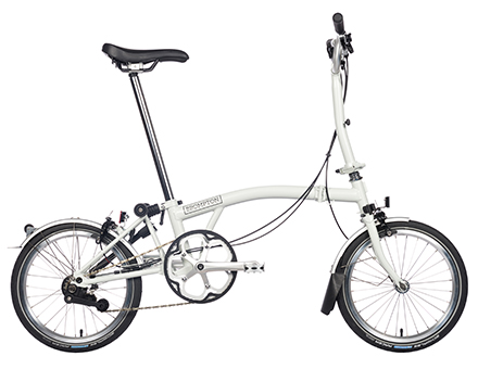 ブロンプトンの折り畳みクロスバイク