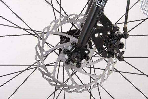 カノーバ― クロスバイクのディスクブレーキ性能