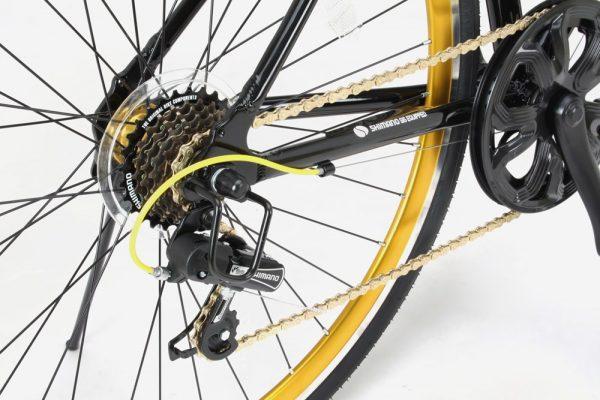 格安クロスバイクの変速性能