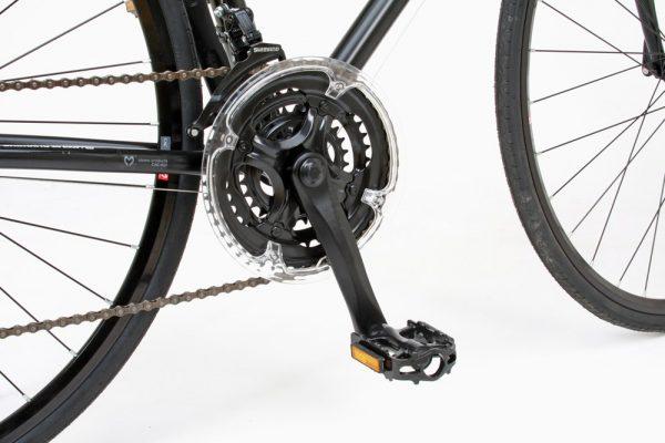 カノーバ―クロスバイク VENUS(ビーナス)のクランク性能 とペダル