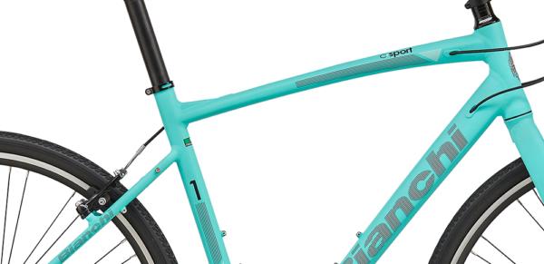 ビアンキのクロスバイクC・Sport 1