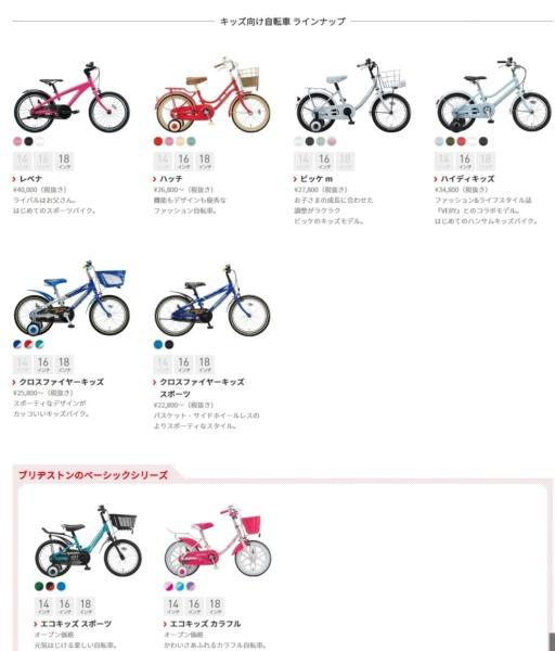 4歳児の自転車選び14インチか16インチか